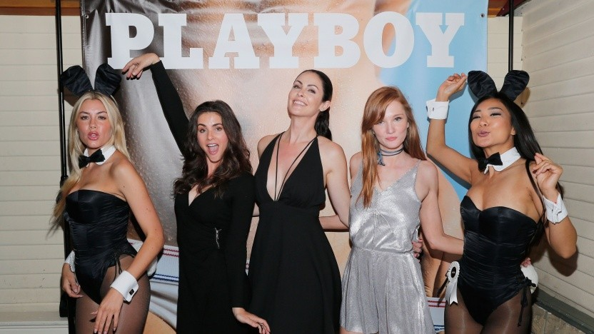 """Playboy Magazine's """"The Freedom Issue"""" Release Party (July/August 2016 Ausgabe)"""