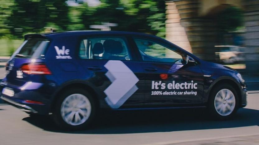 E-Auto-Anbieter Weshare in Berlin