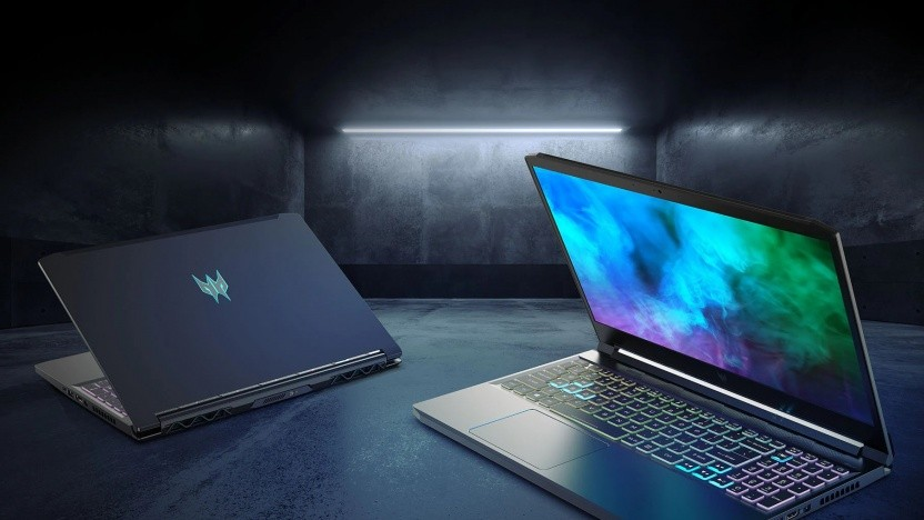 Acers aktualiserte Gaming-Laptops werden auch mit Nvidias GeForce RTX 3050 und 3050 Ti ausgestattet.