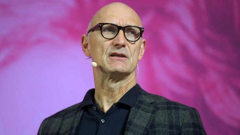 Höttges spricht im Jahr 2019 für die Deutsche Telekom.
