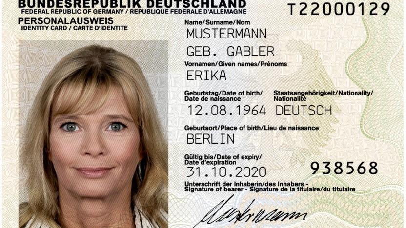 Passfoto und Unterschrift sollen zentral gespeichert werden.