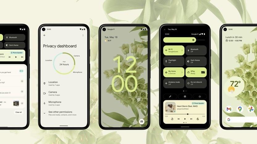 Das neue Android 12