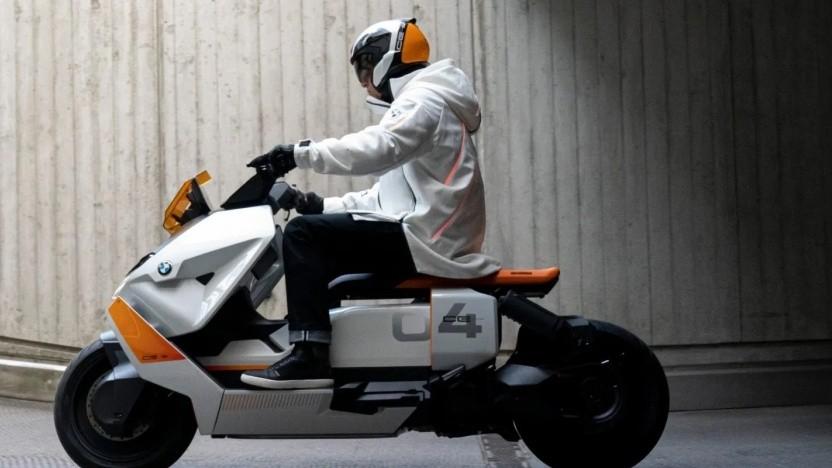 BMW CE 04 E als Konzeptfahrzeug