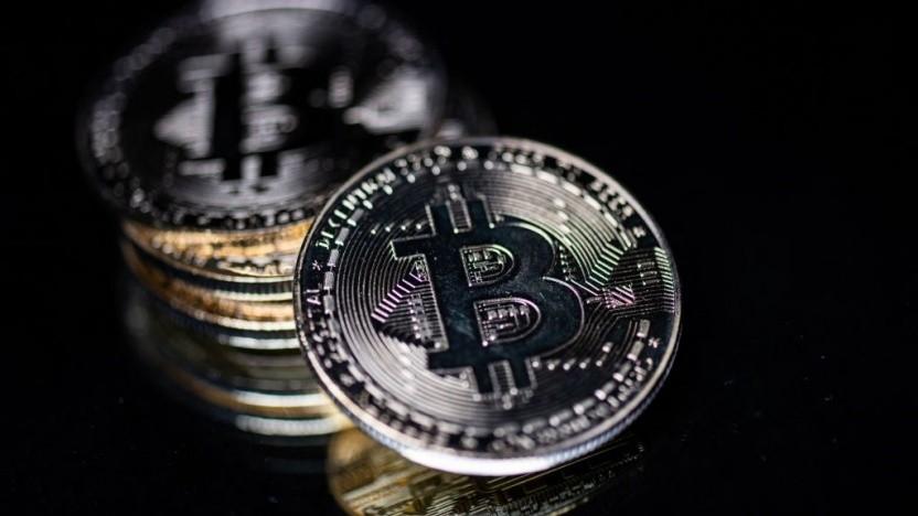 Der Kurs des Bitcoins stürzt weiter ab.