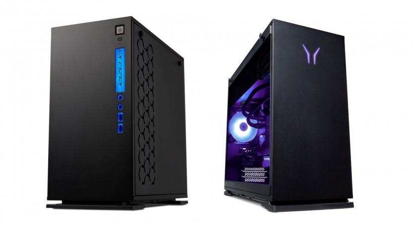 Die Gaming-PCs Medion Erazer Engineer X10 (links) und Hunter X20 (rechts) gibt es in Kürze bei Aldi.