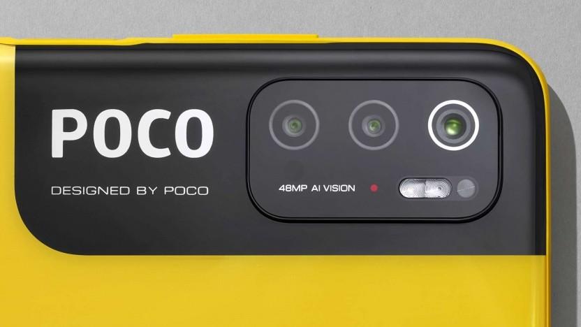 Das Kameramodul des Poco M3 5G