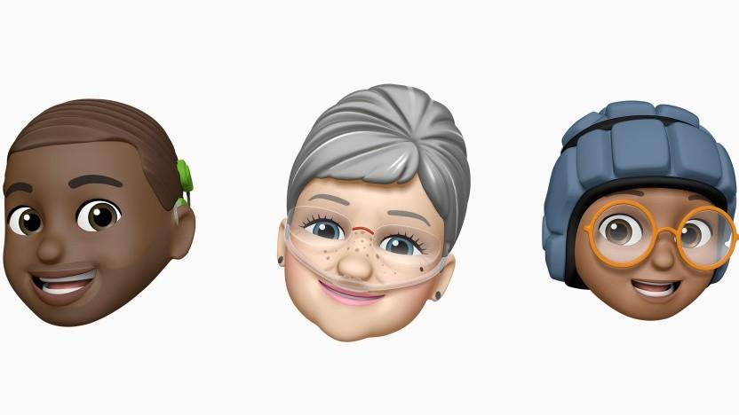 Apples neue Memoji-Anpassungen