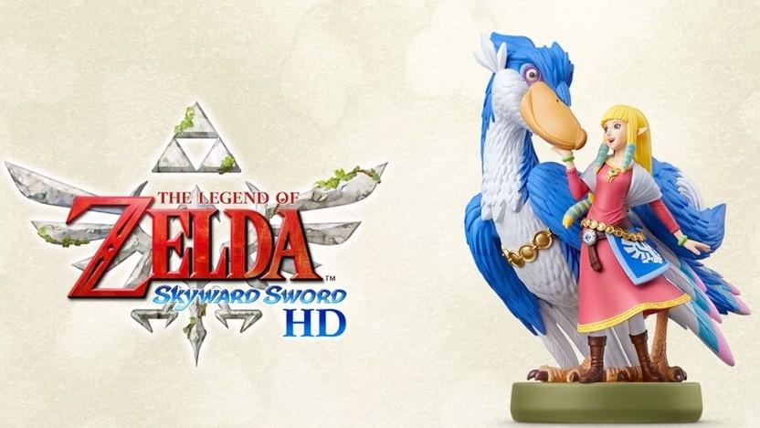 Ein teures Amiibo mit praktischem Mehrwert: Prinzessin Zelda mit dem Wolkenvogel.
