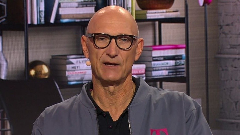 Telekom-Chef Tim Höttges beim Kapitalmarkttag 2021