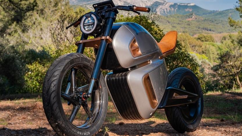 Elektromotorrad Nawa Racer: von 60er-Jahre-Motorrädern inspiriertes Design