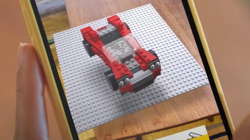 Lego mit Snapchat