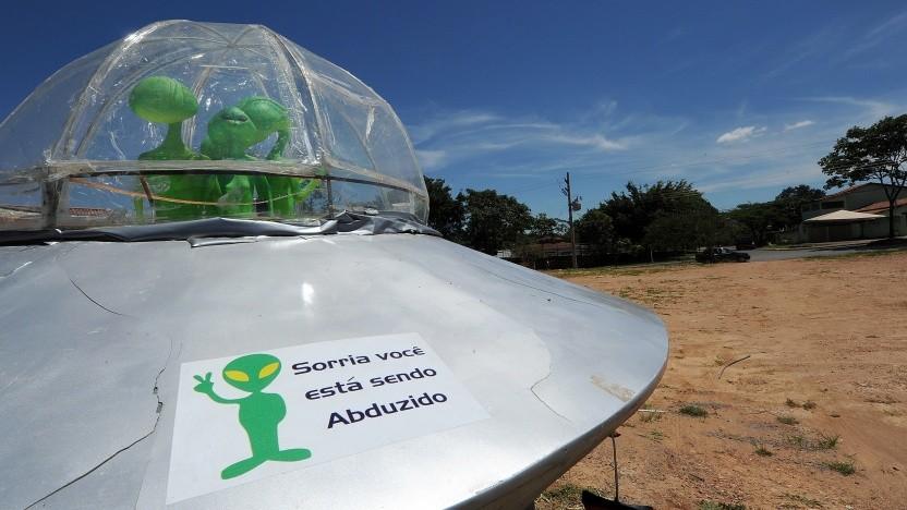 Ufo-Installation in Brasilien