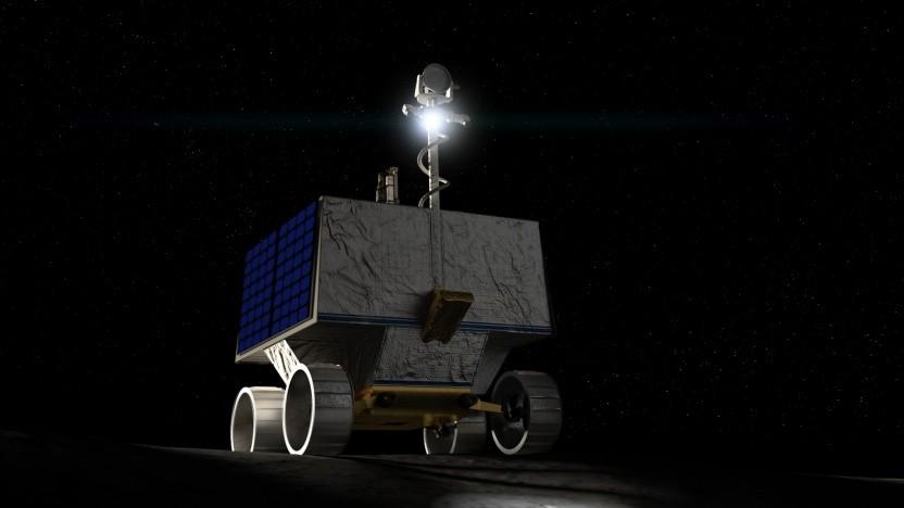 Künstlerische Darstellung von Viper auf dem Mond: Vorbereitungen für eine dauerhafte Präsenz auf dem Mond