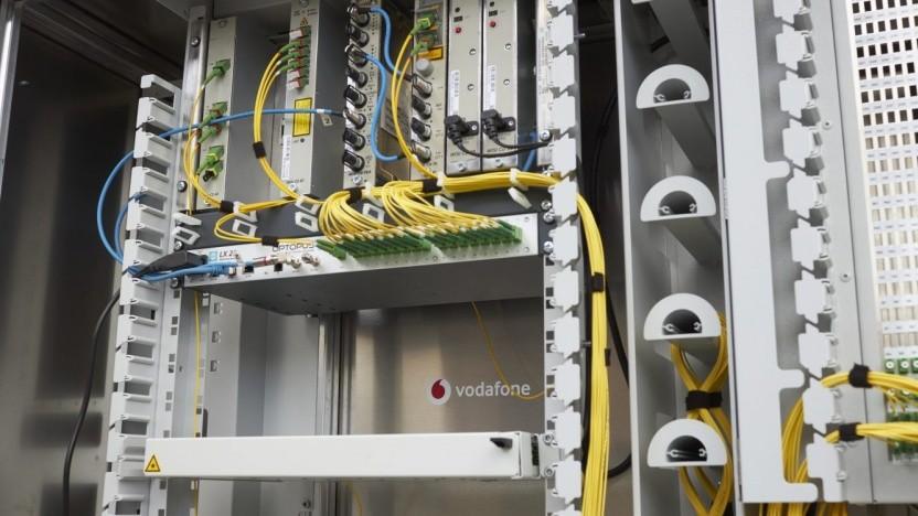 Netztechnik bei Vodafone Deutschland