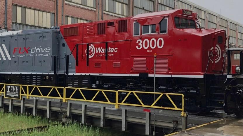 FLXdrive: erste schwere Güterzuglokomotive mit Akku