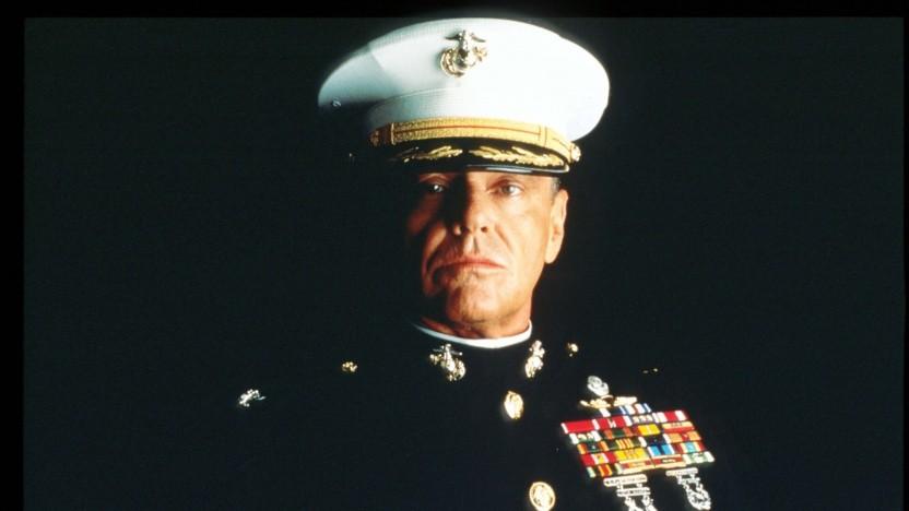 Jack Nicholson als Colonel Nathan Jessup spricht dank Flawless unter anderem Französisch.