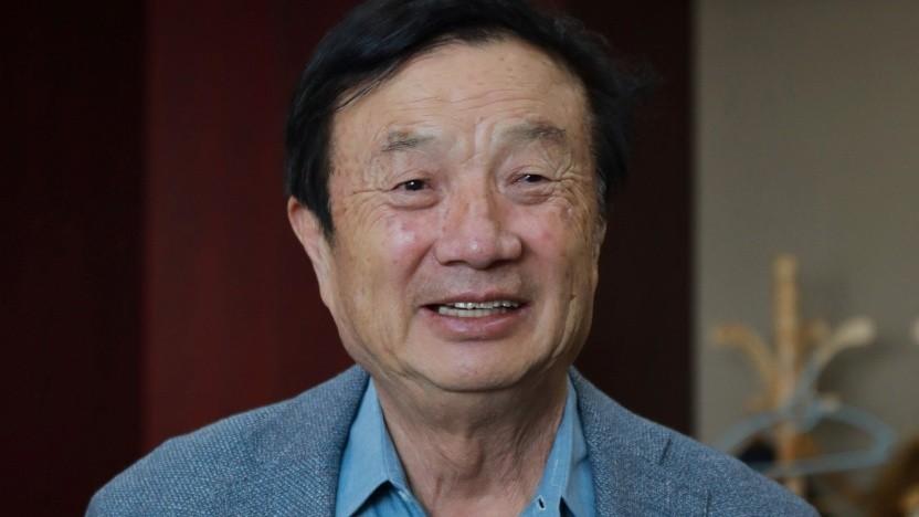 Huawei-Gründer Ren Zhengfei im Februar 2021