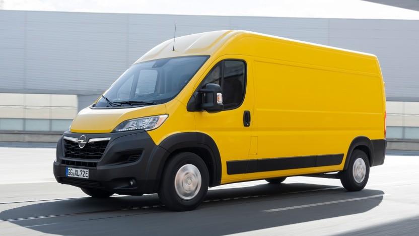 Opel hat weitere Details zum vollelektrischen Movano genannt.
