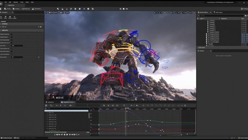 Artwork der Unreal Engine 5