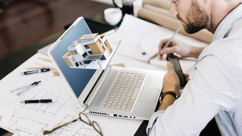 Stereoskopisches 3D soll beim Anzeigen von Designs ein Vorteil sein.