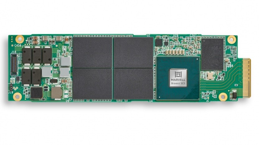 SSD im E1.S-Formfaktor mit Bravera-SC5-Controller