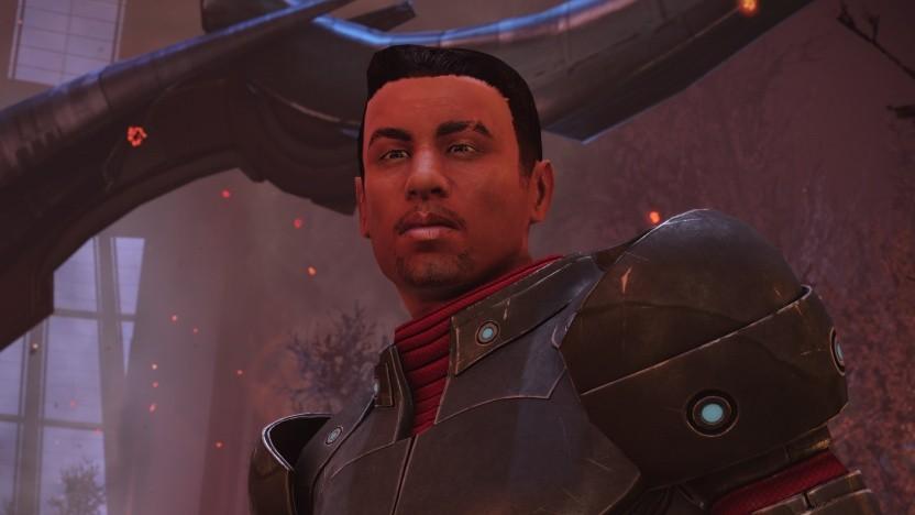 Commander Shepard kämpft sich im neuen Look zum Sieg.