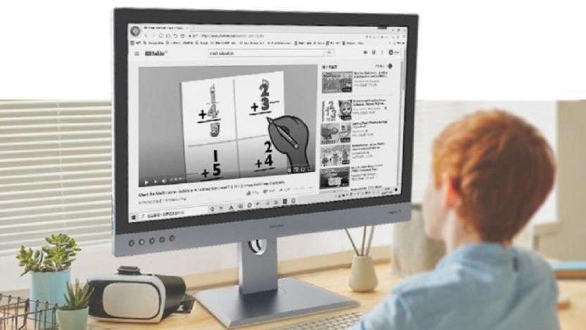 Der Paperlike 253 verwendet E-Paper statt LCD.