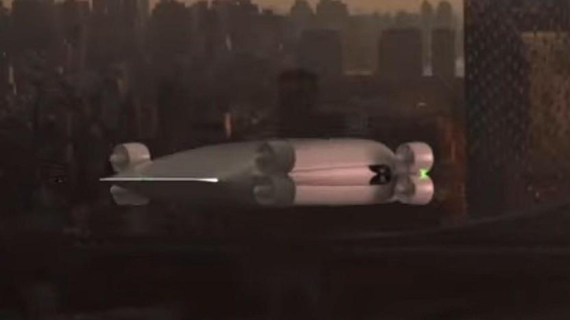 Luftfahrzeug von Kelekona: eine Stunde von Los Angeles nach San Francisco