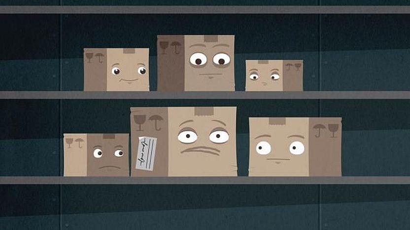 Das Paket und wohin es geht