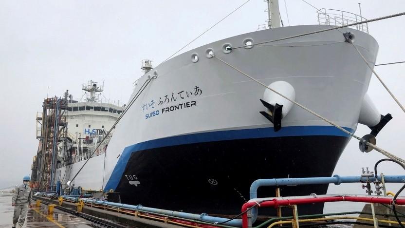Wasserstofftanker Suiso Frontier
