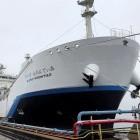 Wasserstoff: Kawasaki stellt ersten Wasserstofftanker fertig