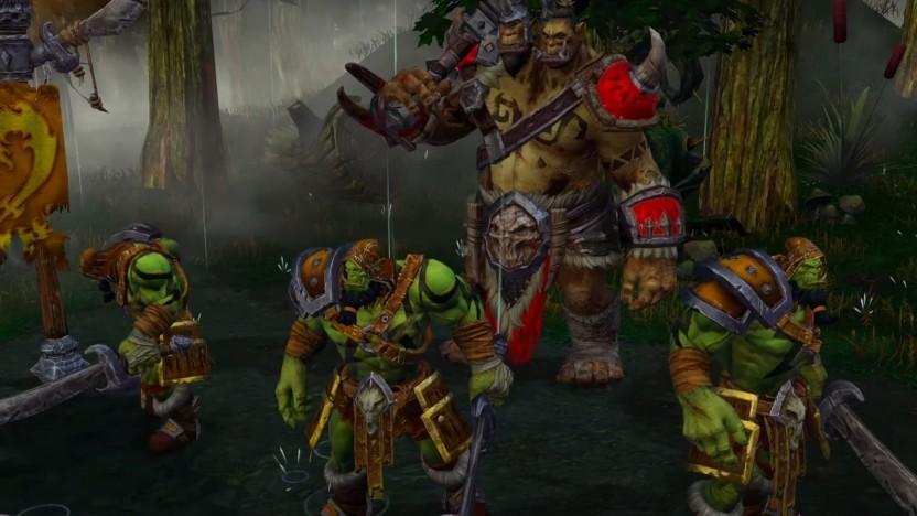 Orcs und Menschen aus Warcraft 2 haben einige Polygone dazubekommen.