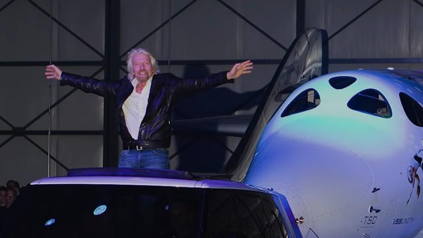 Richard Branson hofft auf Hunderte Flüge und Milliardenumsätze, die derzeit nicht existieren.