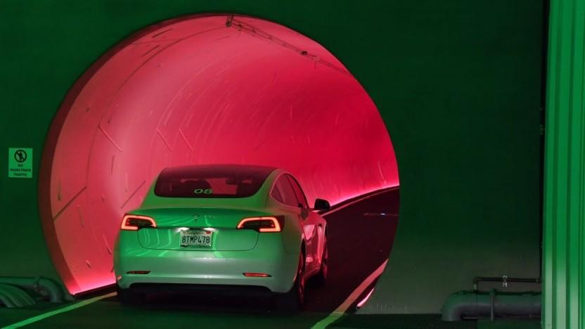 The Boring Company ist mit dem Ergebnis des Tunneltests in Las Vegas zufrieden.