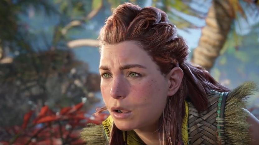 Aloy hat in Horizon Forbidden West eine höher auflösende Gesichtstextur.