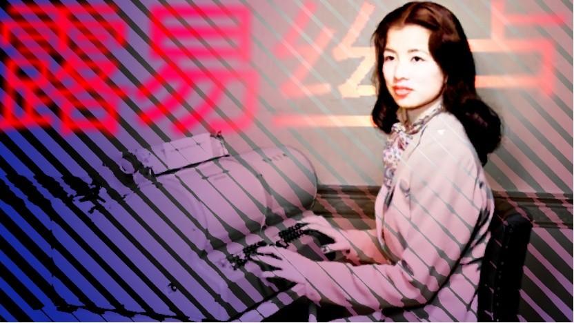 Ein Bild, das in den 1940ern für Aufsehen sorgte: Lois Lew an der ersten Schreibmaschine mit chinesischen Zeichen