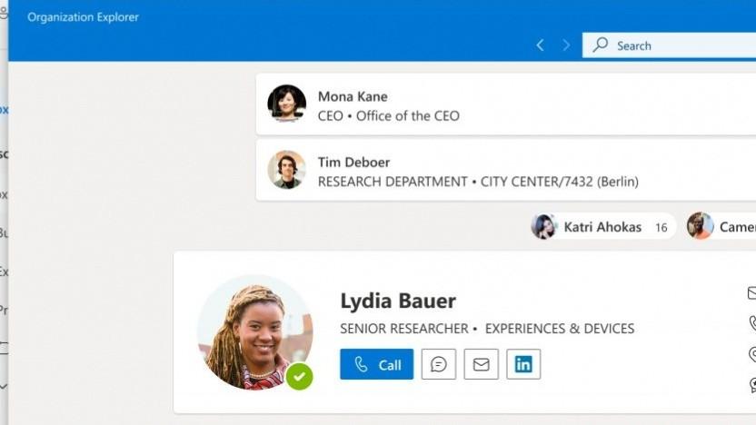 Outlook wird visuell überarbeitet.