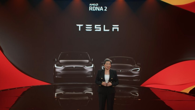 Teslas Model X und Model S nutzen RDNA2-Technik.