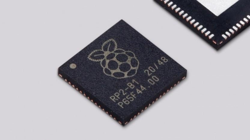 Der RP2040 wird als Einzelteil verkauft.