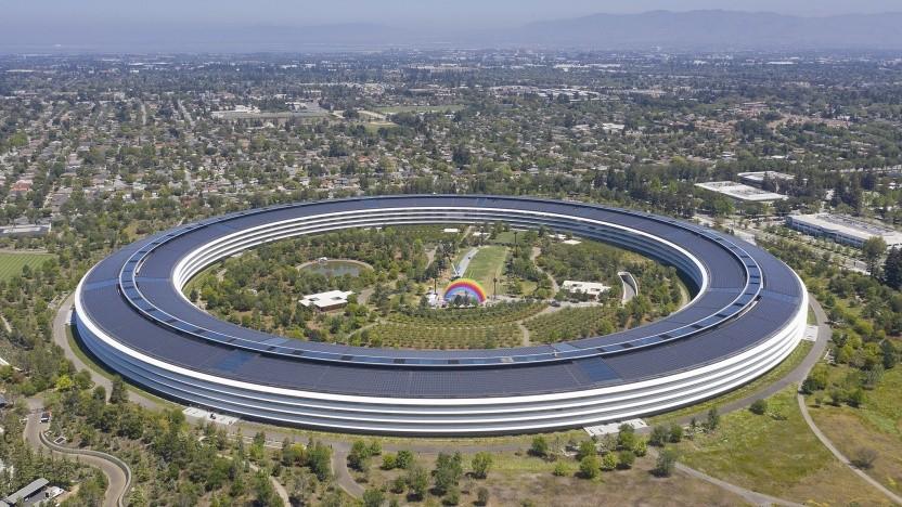 Der Apple-Campus wird ab Herbst wieder voller.