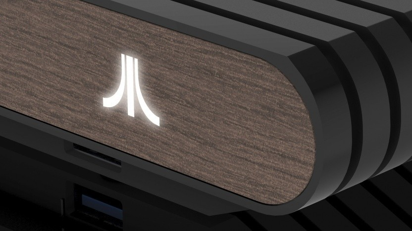 Die Front des Atari VCS