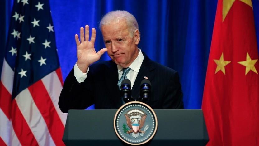 Joe Biden bei einem Besuch in China, damals noch als Vizepräsident.