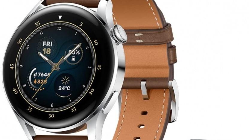 Die Huawei Watch 3 im Bundle mit den Freebuds Pro