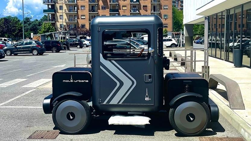Mole Urbana: Elektroautos aus dem Baukasten
