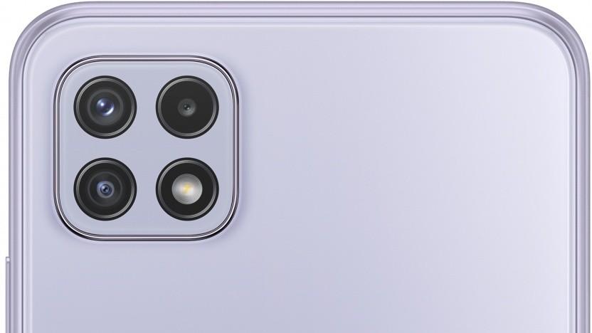 Das Galaxy A22 5G von Samsung