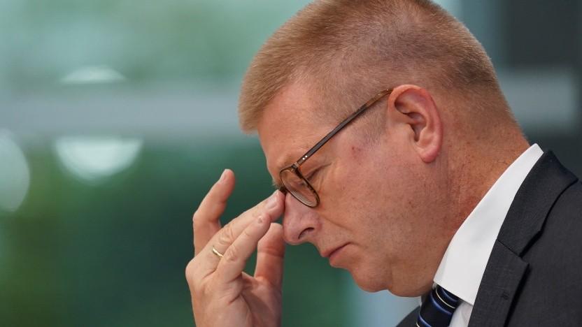 Verfassungsschutzchef Thomas Haldenwang sieht starke Spionage-Aktivitäten von Russland in Deutschland.