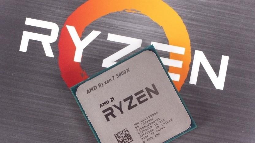 CPUs wie der Ryzen 7 5800X sind derzeit beliebt.