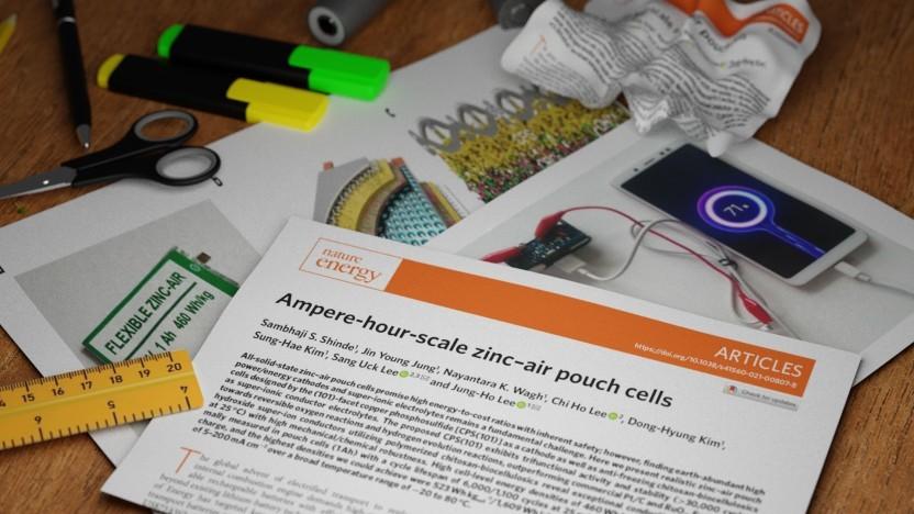 In Nature Energy wurde eine Forschungsarbeit über einen Zink-Luft-Akku veröffentlicht, deren Ergebnisse - im besten Fall - irreführend aufgeschrieben wurden.