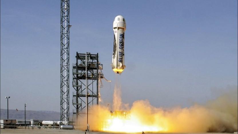 Die New Shepard hat schon viele erfolgreiche Testflüge hinter sich.