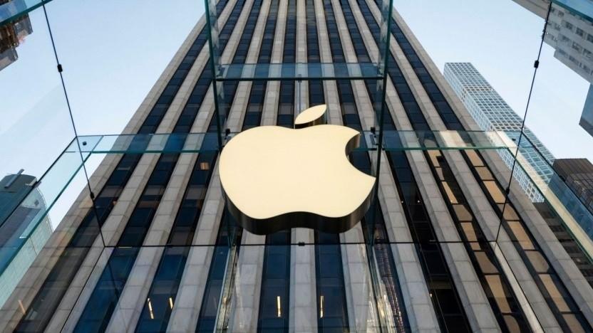 Apple-Logo (Symbolbild): Die Akkuzellen sollen in den USA produziert werden.
